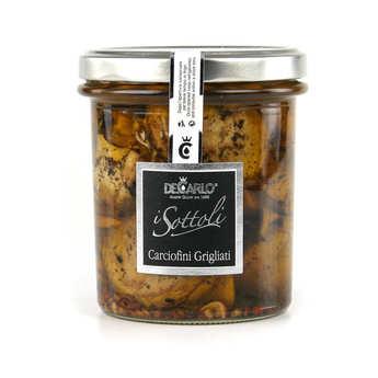De Carlo - Grilled artichokes with Olive oil - Carciofini Grigliati