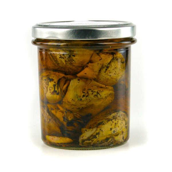 Grilled artichokes with Olive oil - Carciofini Grigliati