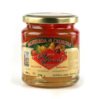 Fieschi - Mostarda di Cremona - Moutarde de Crémone