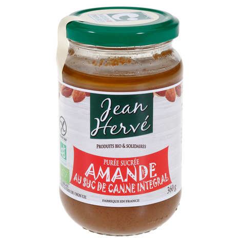 Jean Hervé - Praliné d'amande au suc de canne intégral bio