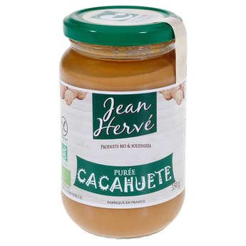 Jean Hervé - Purée de cacahuètes bio (pâte d'arachides)