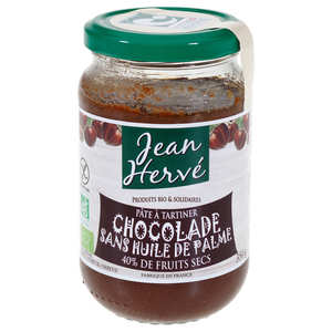 Jean Hervé - La chocolade - organic chocolate spread without palm oil