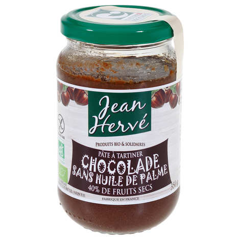 Jean Hervé - La chocolade - pâte à tartiner bio sans huile de palme