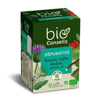 "Bio Conseils - organic infusion ""purifying"""