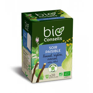 "Bio Conseils - organic ""evening"" infusion"