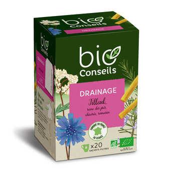 "Bio Conseils - organic infusion ""draining"""