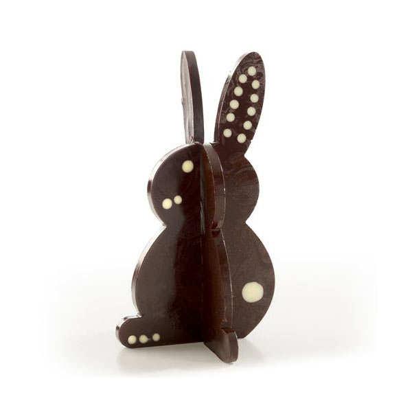 Moule silicone 3D pour chocolat - Lapin et Oeuf