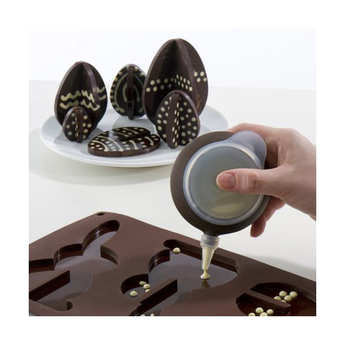 Lékué - 3D easter silicone mould for chocolate