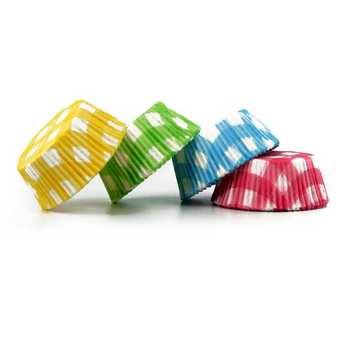 """ScrapCooking ® - Caissettes """"Vichy"""" pour cupcakes"""