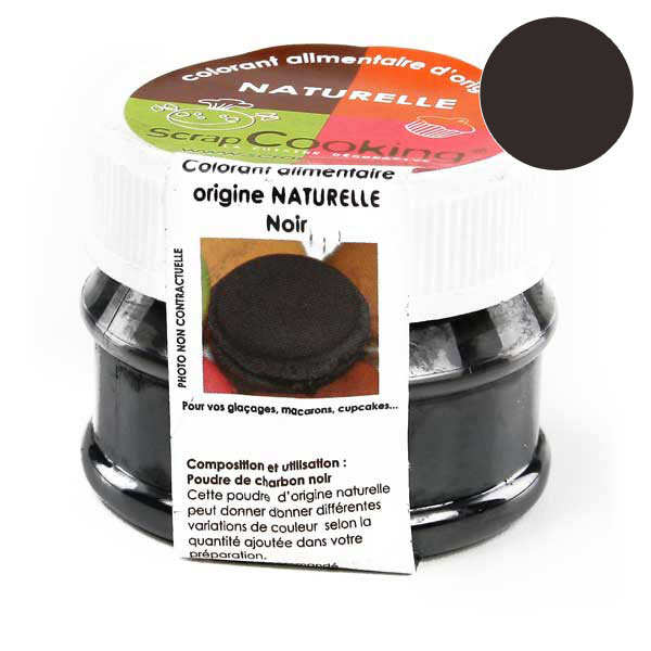 colorant alimentaire origine naturelle noir - Colorant Noir Alimentaire