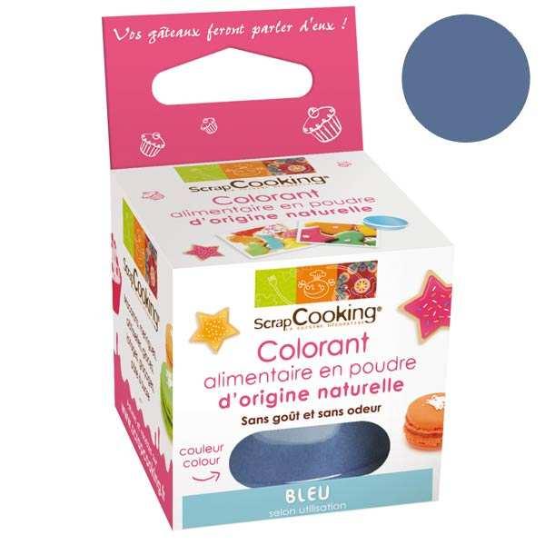 Colorant alimentaire origine naturelle - Bleu