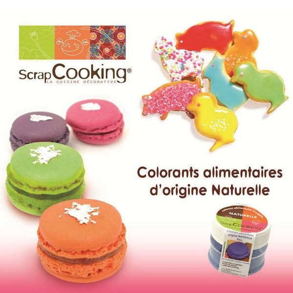 colorant alimentaire origine naturelle bleu scrapcooking. Black Bedroom Furniture Sets. Home Design Ideas