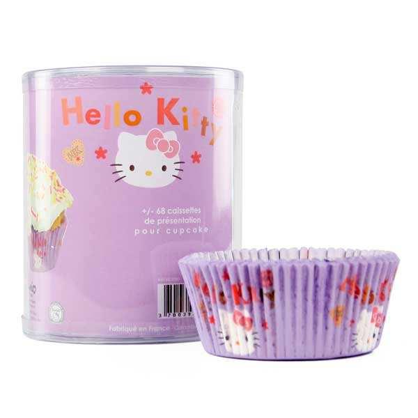 68 caissettes Hello Kitty pour cupcakes