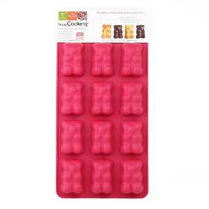 ScrapCooking ® - Silicone teddy bear chocolate mould