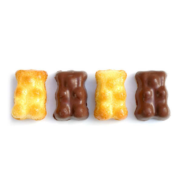 Silicone teddy bear chocolate mould