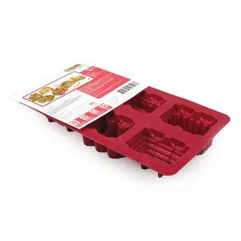 ScrapCooking ® - Moule à gâteaux silicone petit train