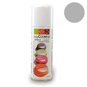 ScrapCooking ® - Spray alimentaire couleur argent
