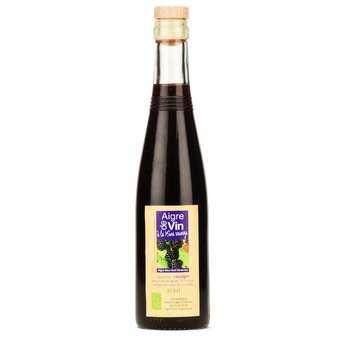 Aigre-doux Sud Cévennes - Vinaigre artisanal à la mûre sauvage bio sans sulfites