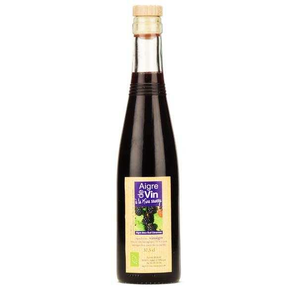 Vinaigre artisanal à la mûre sauvage bio sans sulfites