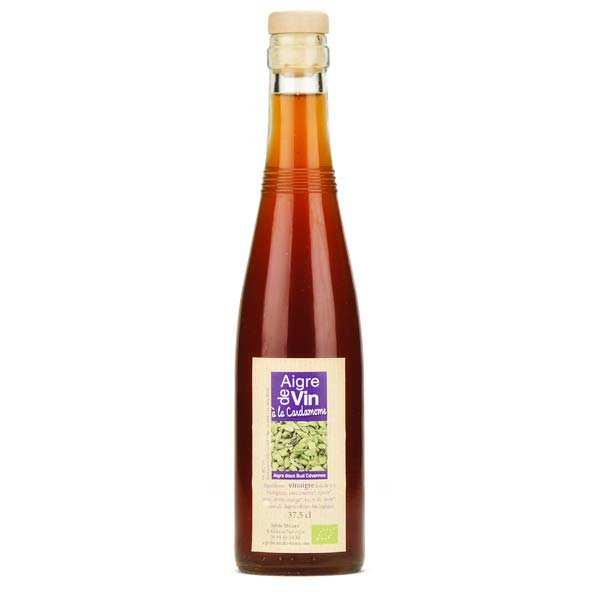 Vinaigre artisanal à la cardamome bio sans sulfite