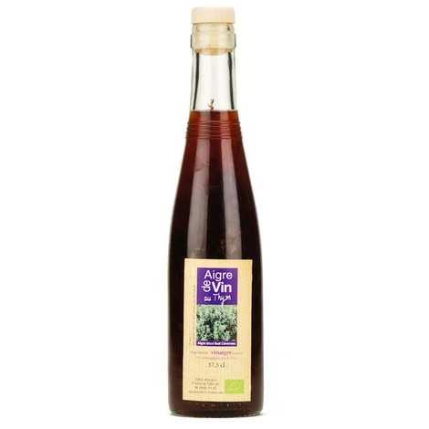 Aigre-doux Sud Cévennes - Vinaigre artisanal au thym bio sans sulfites