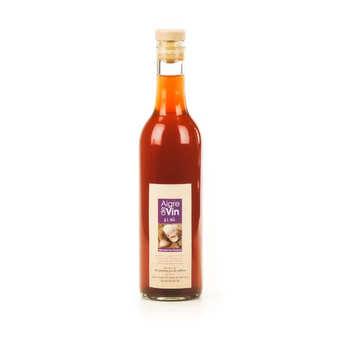 Aigre-doux Sud Cévennes - Vinaigre artisanal à l'ail bio sans sulfites