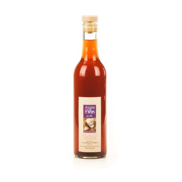 Vinaigre artisanal à l'ail bio sans sulfites