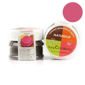 ScrapCooking ® - Colorant alimentaire origine naturelle - Pourpre