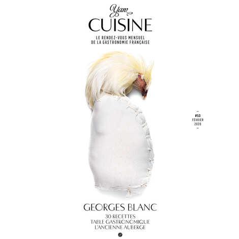 Yannick Alléno Magazine - Abonnement à YAM Cuisine - un numéro mensuel