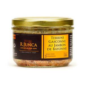 Le Canard du Midi - Terrine Gasconne au jambon de Bayonne