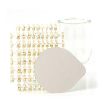 - Kit de personnalisation des opercules de pots de yaourts
