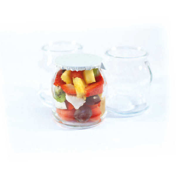 Empty yoghurt pot - 120ml