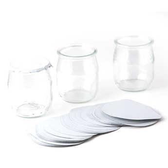 - Opercules pour pots de yaourts