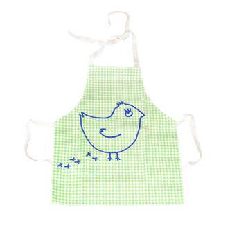 La Cocotte - Kids' Green Coquito Chick Apron