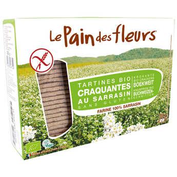 Le pain des fleurs - Le Pain des Fleurs au sarrasin bio - sans gluten