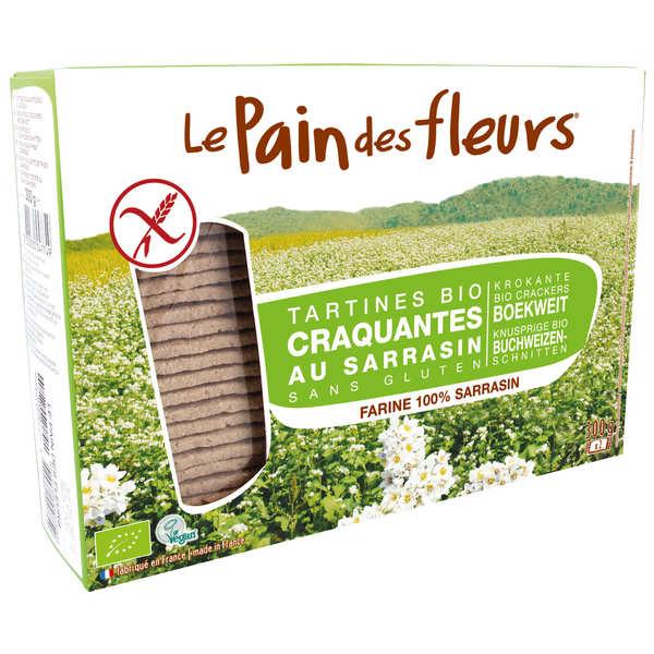 Le Pain des Fleurs au sarrasin bio - sans gluten