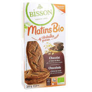 Bisson - Matins Bio céréales et chocolat - Biscuits petit déjeuner