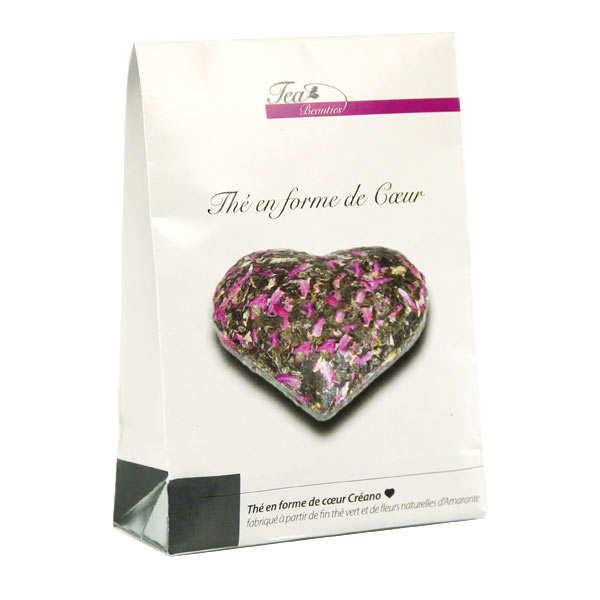 Thé en forme de coeur