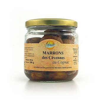 Verfeuille - Marrons au cognac bio
