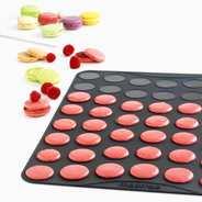 Mastrad - Plaque à macarons classiques en silicone Mastrad (3.8 cm)