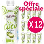 VaiVai - Vaïvaï – L'eau de coco 100% naturelle - Le lot de 12