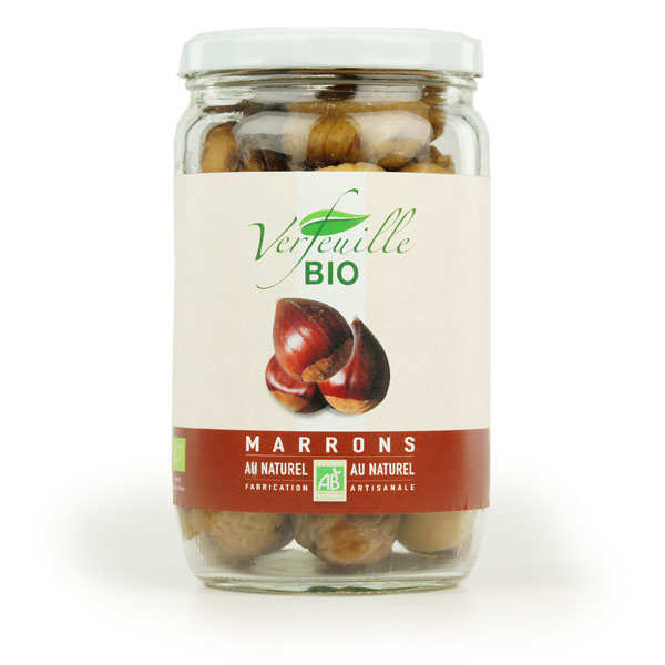 Marrons au naturel Bio