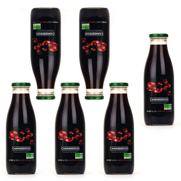 Pure organic cranberry juice 5+1 free of charge