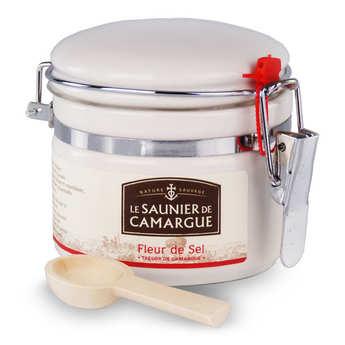 Les Saunier de Camargue - Fleur de sel de Camargue - pot porcelaine