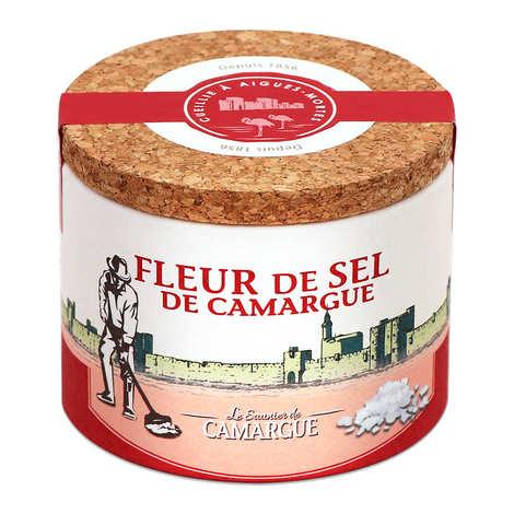 Les Saunier de Camargue - Fleur de sel de Camargue - Boite ronde