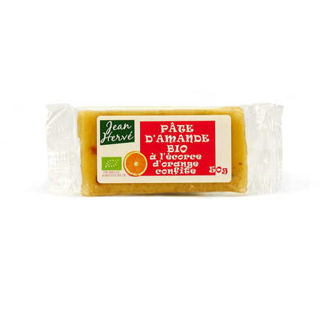 Jean Hervé - Organic almond paste with orange peel