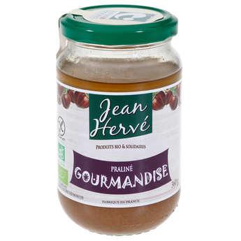 """Jean Hervé - Crème de praliné à la noisette """"Gourmandise"""""""
