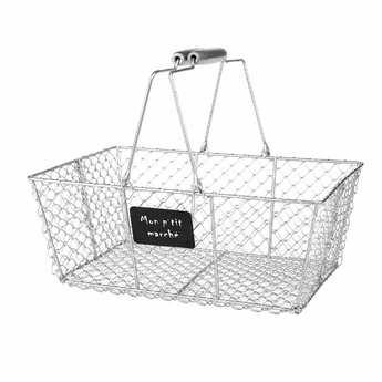 - Metal basket