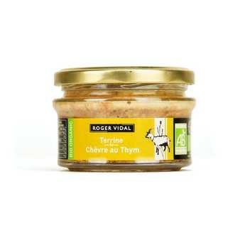 Roger Vidal - Organic Goat's Cheese and Thyme Terrine