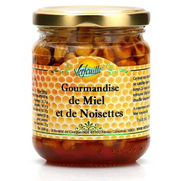 Gourmandise de miel et de noisettes